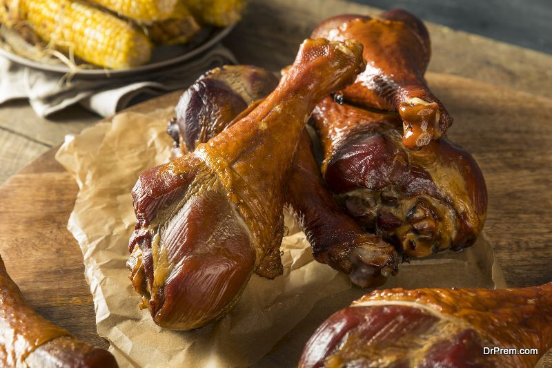 Red Wine Braised Turkey Legs new flavors to your Thanksgiving dishes