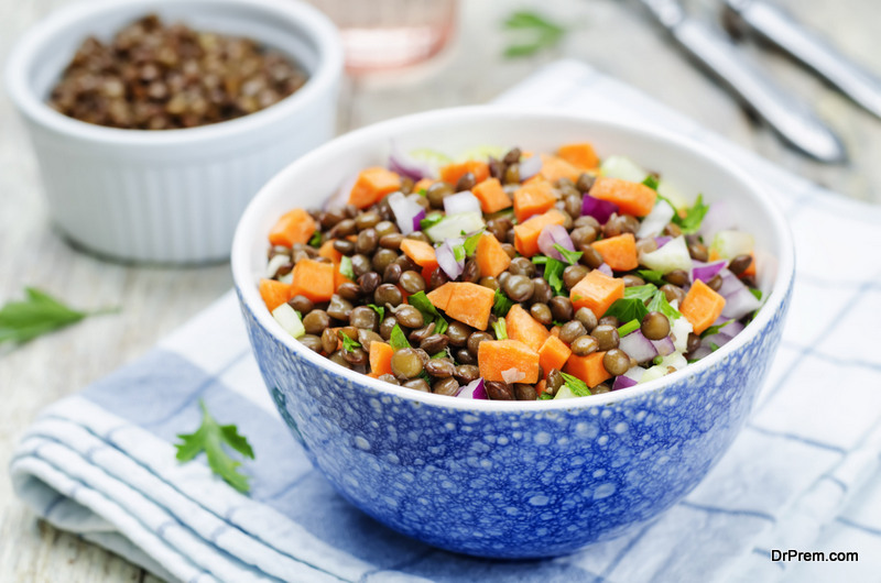 Coconut-roasted-carrot-lentil-salad