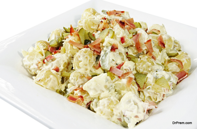 Warm-potato-salad-with-bacon