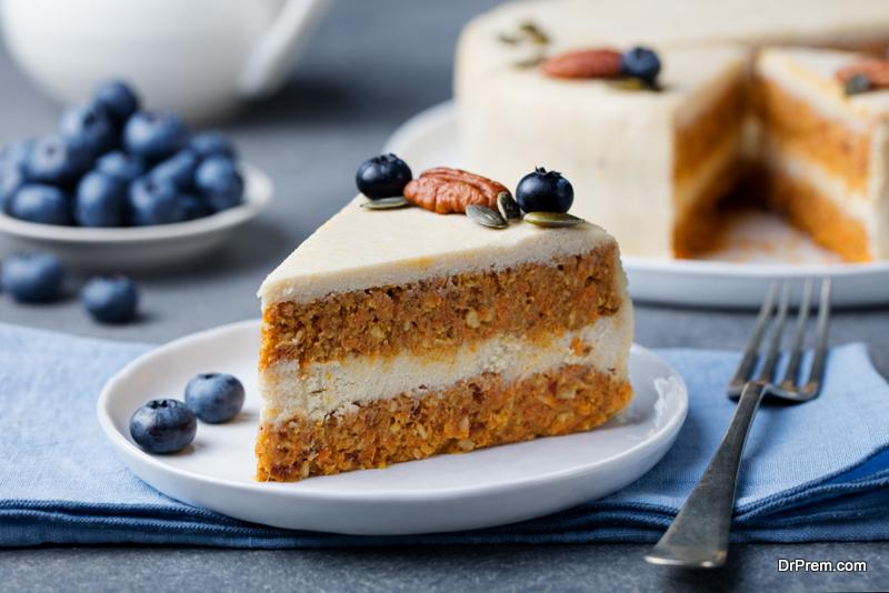 Blueberry-cake-having-coconut-frosting