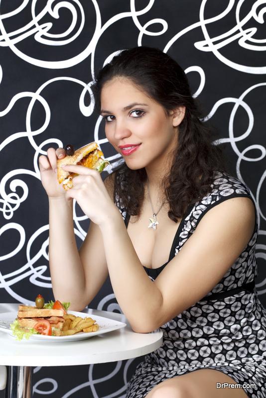 Gluten free teatime sandwich