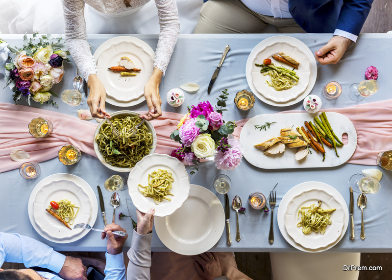 Best-starters-for-a-summer-wedding-party