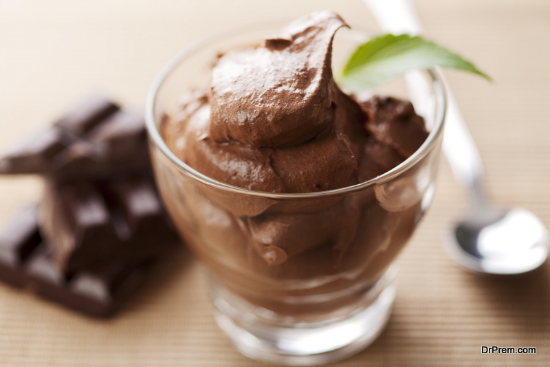 Warm Double-Chocolate Pudding