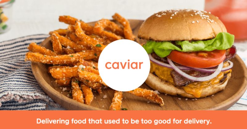 caviar food delivery app