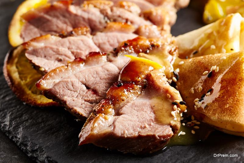 Meal of Peking Duck