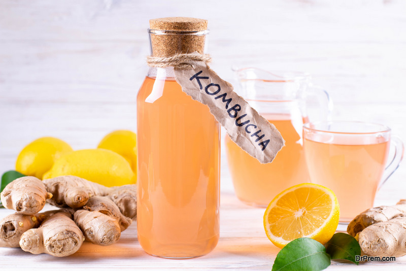 Kombucha is a challenging drink